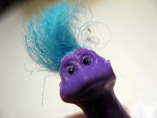 Fuzzy dinosaur