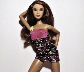 Barbie posing